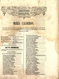 José María Huici – María Calderón (1850)
