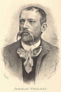 Jaroslav Vrchlický, retratado por Jan Vilímek