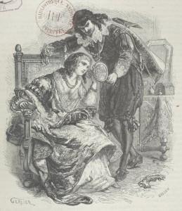 Henry de Kock – La Calderona, ilustración de Gerlier (1875)