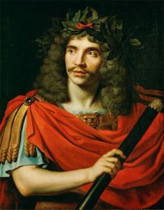 Nicolas Mignard – Retrato de Molière (1656)