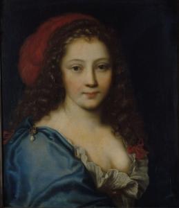 Pierre Mignard – Retrato supuesto de Armande Béjart (ca. 1660)