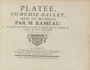 Jean-Philippe Rameau - Platée (1749)