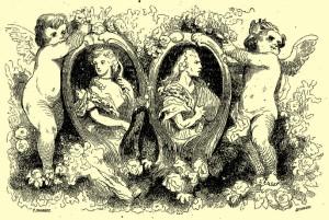 George Sand – La Marquise, ilustración de Tony Johannot (1856)