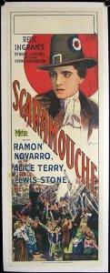 Cartel de la película «Scaramouche» (Rex Ingram, 1923)
