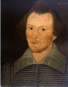 William Shakespeare – Aunque exista controversia al respeto, se cree que este retrato, conocido como «Retrato de Sanders» fue encontrado en Ottawa en el archivo de los descendientes de John Sanders (primer propietario y quizás autor de la obra) es el único retrato hecho en vida de Shakespeare.
