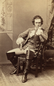 Edward Askew Sothern en «David Garrick» (1864)