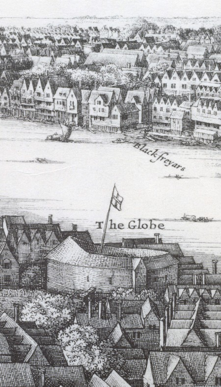 Wenceslaus Hollar – Vista panorámica de Londres (1647, detalle)