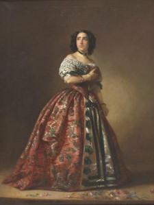 Manuel Cabral y Aguado Bejarano – La actriz Teodora Lamadrid en Adriana Lecouvreur (1853)