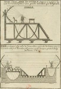 Asiento oral y móvil, destinado a reforzar la voz del orador en una gran asamblea, por el Sr. Gérard (1789)