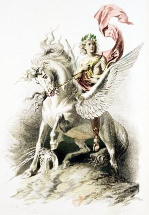 Nicolas Boileau – L'Art poétique, ilustración de Émile Bayard (1873)