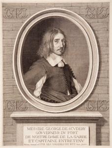 Robert Nanteuil – Retrato de Georges de Scudéry (1654)