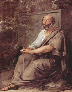 Francesco Hayez – Aristóteles (1811)