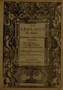 Thomas Heywood - An Apology for Actors (1612)