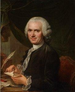Jean-Jacques Rousseau, por François Guérin (S. XVIII)
