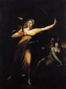 Johann Heinrich Füssli – Lady Macbeth (1784)