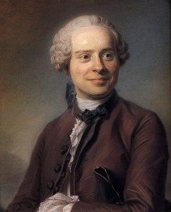 Jean Le Rond D'Alembert, por Maurice Quentin de la Tour (1753)