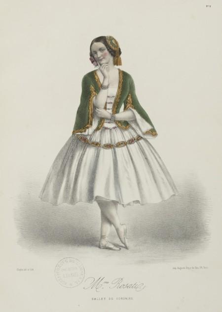 Adolphe Menut - Bailarina de la Ópera de París (S. XIX)