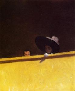 Félix Vallotton - La Loge de théâtre (1909)