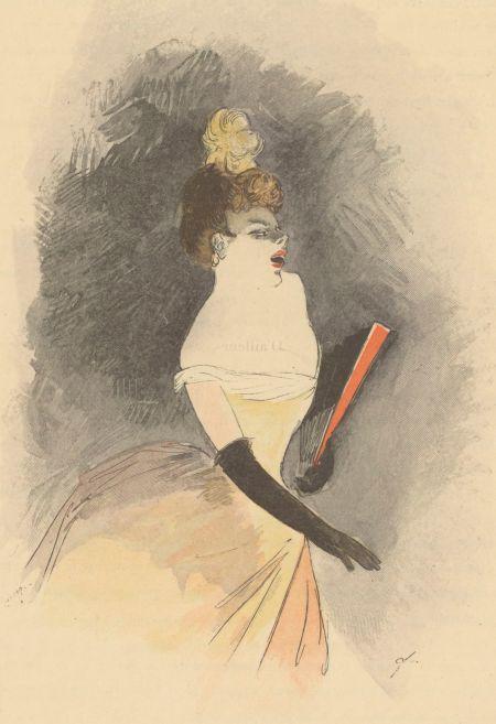 Jean-Louis Forain, Ernest Florian (grabador) - Le Café-Concert (189?)
