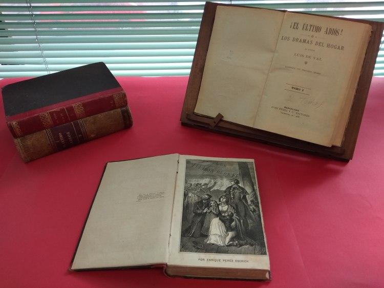 Los ejemplares adquiridos por la Biblioteca