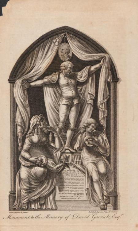 James Barlow - Monumento a la memoria de David Garrick (1797)