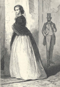 Leoncia de Villarreal, protagonista de «Los Hijos de la fe» (1866) de Enrique Pérez Escrich