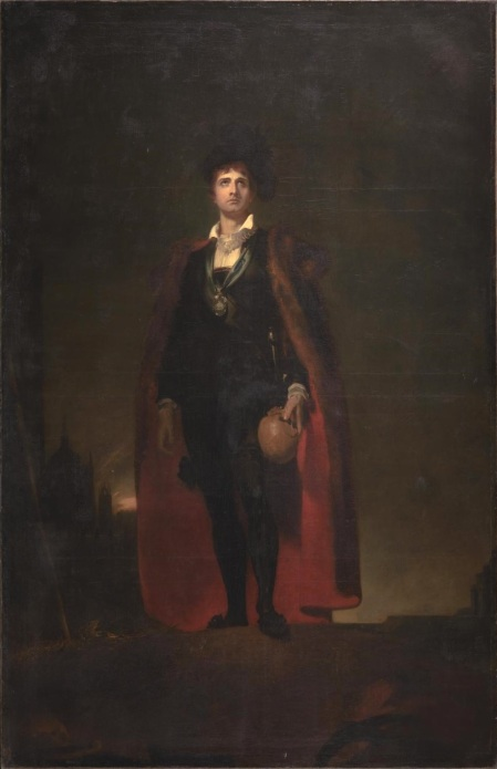Thomas Lawrence - John Philip Kemble interpretando el papel de Hamlet (1801)