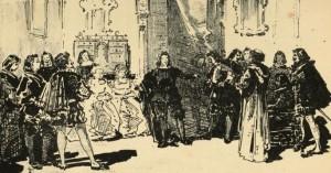 Carlos Coello y Pacheco - Antaño y Ogaño, ilustración de Luis Taberner (1881)