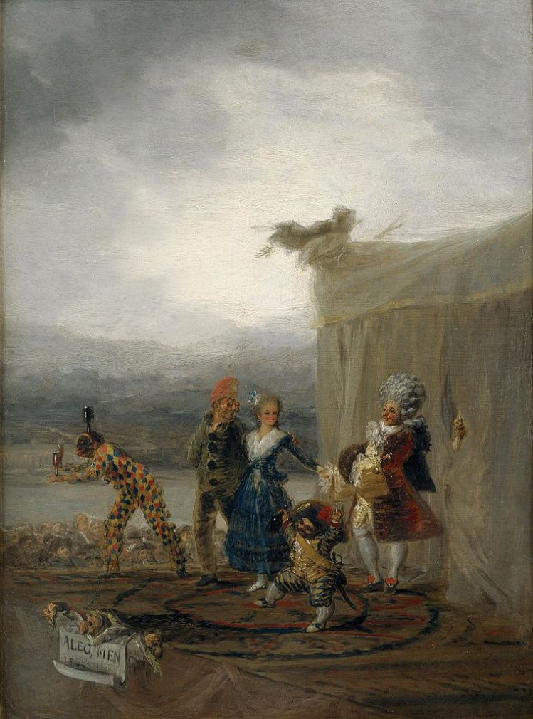 Francisco de Goya - Cómicos ambulantes (1793)