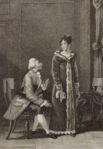 François Andrieux – La Comédienne (1816)