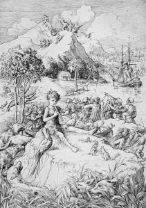 J.M. Barrie - Peter Pan, ilustración de Francis Donkin Bedford (1911)