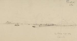 Eugène Gallois - Vista de Las Palmas (1903)