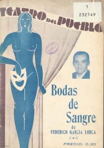 Federico García Lorca – Bodas de sangre (1936)