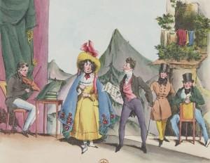 Henry Monnier – Une répétition (1830)