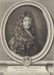 Philippe Quinault, por Dominique Sornique (S. XVIII)