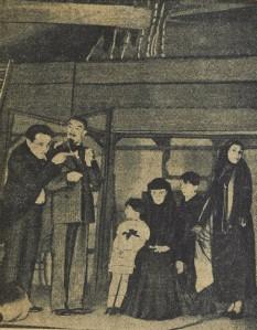 Seis Personajes en busca de autor, representación de la compañía Pitoëff en París (1937)