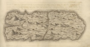 Leonardo Torriani – Mapa de la isla de San Borondón (1588)