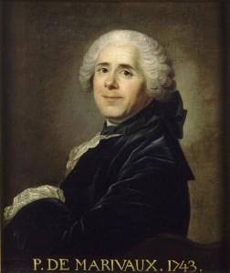Louis-Michel Van Loo – Retrato de Pierre Carlet de Chamblain de Marivaux (1743)