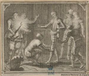 Francisco Alcantara – Don Quijote con Maese Pedro (1798)