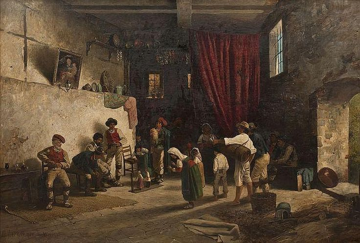 Edmund Berninger – Teatro de marionetas en Italia (187?)