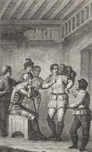 Alejandro Blanco y Assensio - Don Quijote con Maese Pedro (1819)