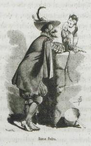 Miguel de Cervantes - El ingenioso hidalgo D. Quijote de la mancha, ilustración de Apel·les Mestres (1879)