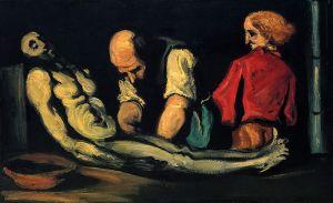 Paul Cézanne - L'Autopsie (1869)