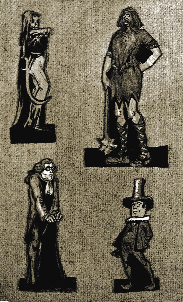 Figuras creadas por Gilbert Keith Chesterton