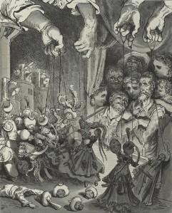 Miguel de Cervantes - El ingenioso hidalgo D. Quijote de la mancha, ilustración de Gustave Doré (1863)