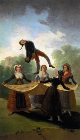 Francisco de Goya - El Pelele (1791-1792)
