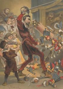 Miguel de Cervantes - El ingenioso hidalgo D. Quijote de la mancha, ilustración de C. Franz (1883)