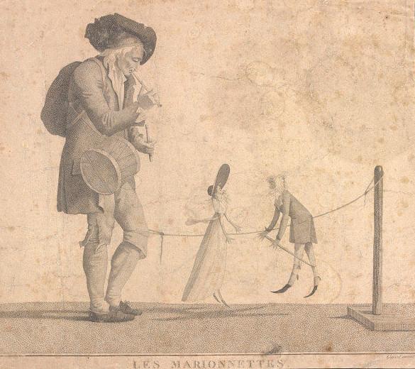 Guyard – Les Marionnettes (principios de S. XIX)