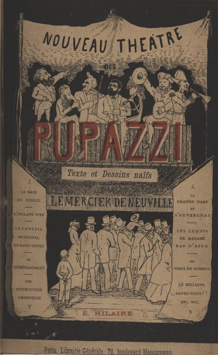 Louis Lemercier de Neuville - Nouveau théâtre des « pupazzi » (1882)