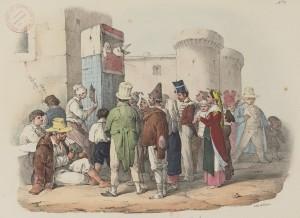 Hyalmar Morner – Les Marionnettes à Naples (S. XIX)